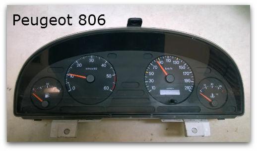 Instrument Cluster Repair Peugeot 206 Instrument Cluster Repair
